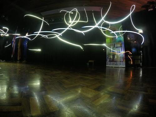 Pintando con luz, Humboldt