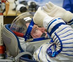 Expedition 43 Preflight (201503270021HQ) (NASA HQ PHOTO) Tags: nasa kazakhstan kaz baikonur scottkelly baikonurcosmodrome russiansokolsuit expedition43 russianfederalspaceagencyroscosmos expedition43preflight oneyearmission