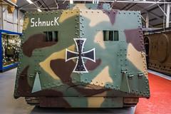 Sturmpanzerwagen A7V (3) (sean@bradford) Tags: infantry war dorset panther armour sherman tankmuseum tanks 43 panzer kingtiger pak bovington jagdtiger 88mm jagdpanther tigertank panzerkampfwagon panzerkampfwagen mainbattletank jagdpanzer shermanfirefly secondworldwartanks kv1b tankinfantry 88mmpak43 firstworldwartanks