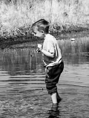 scotsbridge (31 of 54) (caikia) Tags: boy childhood river paddle