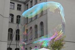 Seifenblasenfabrik Bubblebo Seifenblasenshow beim Tag der offenen Tür im Bundesministerium für Landwirtschaft 10