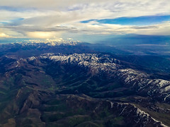 Wasatch Range--East of Salt Lake