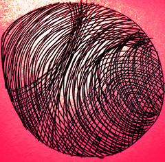 egg +tumblr poems (Drew Daves) Tags: pink light abstract lines contrast writing sketch words soft drawing background egg hard structure round layers draw poems distress depth invert selfpublishing thumbprint manic tumblr