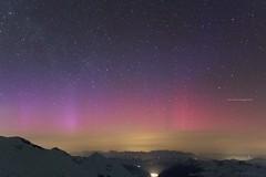 Polarlicht am Sonnblick (bergfroosch) Tags: hermannscheer sonnblickobservatorium bergratz