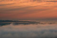 Sunrise_in_Przemysl_11 (Mirek Pruchnicki) Tags: city morning fog clouds sunrise morninglight pentax polska poranek wiosna mga wschd krajobraz przemyl kopiectatarski wojewdztwopodkarpackie