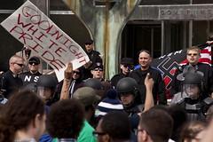 IMG_7185 (Wespennest) Tags: ohio demo spring cops nazi nazis protest police demonstration toledo armor april riotpolice riotcops neonazis nsm bodyarmor jeffschoep nationalsocialistmovement kenkrause