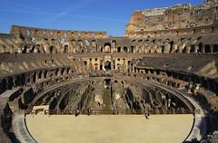 Rome - Colosseum 4 (Simon Spaepen) Tags: city travel italy rome heritage history tourism architecture ancient landmark unesco histoire architectuur geschiedenis erfgoed