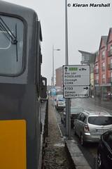 084 passes along Wexford Quays, 8/5/15 (hurricanemk1c) Tags: irish train gm rail railway trains railways wexford irishrail generalmotors 084 2015 emd 071 iarnród éireann wexfordquays rpsi iarnródéireann railwaypreservationsocietyofireland 1105m3parkwayrosslarestrand thestrandrailtour