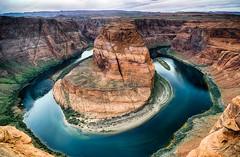 Horseshoe Bend (Rkitichai) Tags: arizona nature landscape unitedstatesofamerica horseshoebend pagearizona travelnutzmn