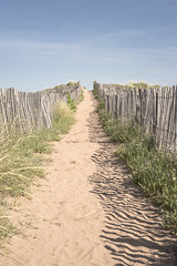 Optimism (Etienne Regis) Tags: sky beach skyline sand perspective away optimism