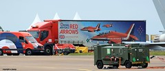 Red Arrows  J78A1831 (M0JRA) Tags: red tattoo flying aircraft air jets planes arrows trucks airshows riat