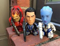 Mass Effect Titan Vinyl (jSarie) Tags: masseffect titanvinyl actionfigures blindboxes minifigures wrex liara kaidan toys