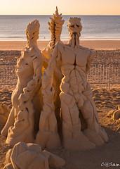 SSS_0219 (Sam 8899) Tags: sand sculpture beach sunrise morning light sky sea color