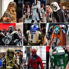 Star Wars Celebration - Cosplay (Ballou34) Tags: 2016 650d ballou34 canon eos eos650d flickr photography rebelt4i t4i star wars starwars stormtrooper stormtroopers london londres starwarscelebration celebration darth vader r2d2 c3po bobba fett swce rogue one chewbacca maul