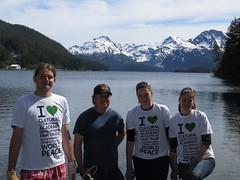 Save the Shoreline (CCIGreenheart) Tags: ccigreenheart greenheart international water culturalexchange alaska