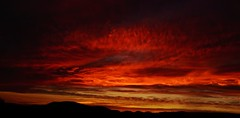 Red sunset (Sunset Master) Tags: sunset red landscape mountains contrast vermont sky dramatic clouds colorful bright dark nature orange yellow dtail