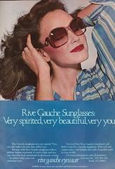 Rive Gauche Eyewear 1978 (moogirl2) Tags: vintage retro vogue 70s 1978 rivegauche 70sstyle 70sglasses vintageads vintagevogue 70sfashions eyewearads 70seyewear