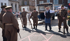 Don't tell him your name Pike! (grannie annie taggs) Tags: dadsarmy people history street kingslynn