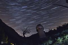 L'observatori ( alfanhu) Tags: observatorio sella observatory startrail stargaze nightshot nocturn nocturna marinabaixa komandokassalla espaa sky nature night light digital exposure dark darkness new