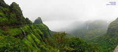 Panorama 2 (Prof.Suresh G. Isave) Tags: varandha onedaytrek tourists attractions near pune maharashtratourism monsoon spots rainy bhor