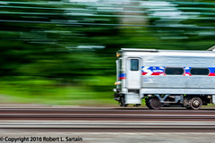 SEPTA 1549, Wynnewood, pan, 2016-07-23 (redheadedrobbie1) Tags: septa southeasternpennsylvaniatransportationauthority silverliner silverlineriv railroad railfan transit commuter passenger electric pan panshot