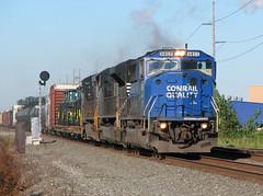 Big Blue M (GLC 392) Tags: railroad blue ohio train big ns quality norfolk railway delta southern oh signal cr conrail 9473 emd sd60m 2713 6803 c409w sd70m2 d940cw d940w
