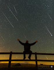 Perseids Meteor Shower 2016 Selfie (dattenphotos) Tags: perseid perseids meteor shower stars space selfie night