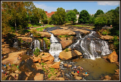 Falls Park On The Reedy -Explore #355 (Jerry Jaynes) Tags: labordayweekendsc2015 fallsparkonthereedy reedyriver greenville sc southcarolina park waterfalls river downtown historicdistrict westend 1685vr nikkor1685vr