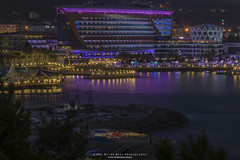 IMG_3716 (Wil de Boer Photography --> Dutch Landscape and Ci) Tags: longexposure sunset holiday water reflections turkey harbor harbour tripod le bluehour turkije alanya waterreflections lep longexposures ndfilter enka aquapark waterplanet canon24105f40 canoneos80d triggertrap turkijenl