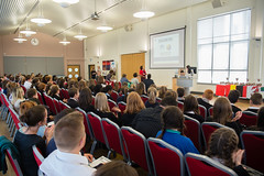 SpellingBeeFinal2016_km130 (routesintolanguages) Tags: uk wales kids modern competition aberystwyth using learning spelling welsh language foreign schoolkids talking schoolgirl schoolgirls pupil speaking vocabulary pupils spellingbee 2016 year7 europeaan wjec schoolkind langiages medrus