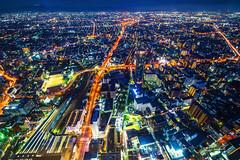 Abeno Harukas  (Jennifer ) Tags: osaka japan nightview building osakacity abenoharukas      tennouji nikond4s