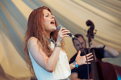 Zoe Gilby @ Mostly Jazz Festival 3 (preynolds) Tags: concert gig livemusic dof canon5dmarkii mark2 raw tamron2470mm frontwomen singer singing festival birmingham moseleyprivatepark moseley counteractmagazine jazz music musician stage stagelights doublebass noflash mostlyjazz2016