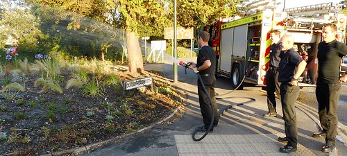 Westbourne Fire Service rescue the Community Growth Project (1) by Chris Colledge