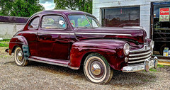 1947 Ford (dok1) Tags: sign signs sinclair cardealer athenscountytheplains may21z