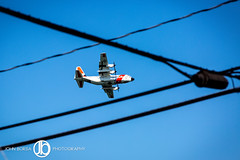Search (JohnBorsaPhoto) Tags: plane coast guard us c130 search searching fly flying air aircraft lake erie hamburg ny new york buffalo water great lakes sky blue power lines fisherman fish fishing wet vehicle