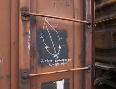 Boxcar Art (orangedot777) Tags: moniker railart markal freighttraingraffiti boxcar freightcar joiner