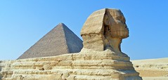 The great Sphinx (wilstony1) Tags: egypt2008fuji giza ancient pyramid