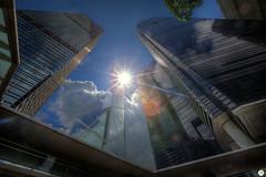 Bank of China Tower, Hong Kong (Calim*) Tags: architecture buildings hongkong skyscrapers backlight