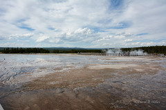 DSD_1493 (pezlud) Tags: yellowstone nationalpark landscape geyserbasin grandprismaticspring midwaygeyserbasin geyser park