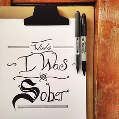 Guess we are over, wish I was sober. (Tamy Nbrega) Tags: brazil art brasil pen writing typography sketch lyrics arte singing song over lo tove letter wish caligraphy msica sober sucia letra nanquim escrita rabisco nanquin sueca rascunho tovelo queenoftheclouds