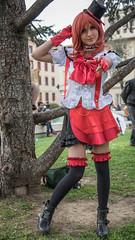 Ludicomix (Sandro Albanese) Tags: girls red woman colour girl movie women colours colore mask cosplay cartoon manga teens teen masks tuscany toscana rosso colori cartoons costumi ragazzi ragazze cartoni cartonianimati empoli ludicomix ludicomics ludicomix2015 ludicomix15