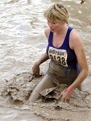 Saturday April 26th 2014. (David James Clelford Photography) Tags: chest curves 10k cleavage warwickshire dirtygirl 10km wolfrun royalleamingtonspa wetgirl femaleathlete curvaceousbody dirtylady wetlady saturdayapril26th2014 sportybabe