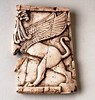 Nimrud ivory griffin furniture inlay - 858-681 BC (BoltonLMS) Tags: archaeology museum ancient bolton griffin nimrud neoassyrian calah kalkhu ancientiraq fortshalmaneser boltonmuseum