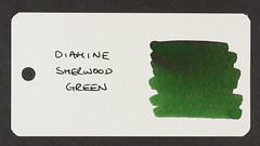 Diamine Sherwood Green - Word Card