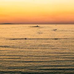 Golden Sunrise (Jackobo) Tags: sea seascape sunrise boats dawn golden sailing greece piraeus attica pireas