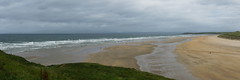 Tullan Strand (Stefan Jrgensen) Tags: ocean ireland sea panorama beach water strand waves sony surfing atlantic surfers atlanticocean donegal bundoran countydonegal 2014 tullanstrand a700 4ex tullan 4exp dslra700