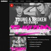 Cheers to the legends at @earmilkdotcom for featuring my remix of Young & Broken - @maxandbianca out tomorrow on @sonymusicaustralia.. Check it out on my Soundcloud