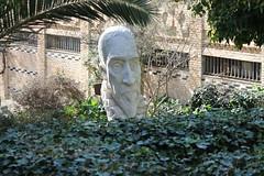 Cervantes. (teresarighetti) Tags: sculpture espaa marble statua cervantes marblesculpture