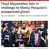 It might have worked on Marcos Maidana but its not going to work on Manny Pacquiao. Floyd Mayweather better pray to God that the judges and the referee are on his payroll. ( I APPROVE THIS MESSAGE ) #THEMANNYTEAM #MAYPAC #KNOCKOUT