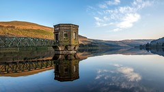 Talybont Pump house (technodean2000) Tags: uk house wales landscape nikon reservoir pump brecon lightroom talybont d610